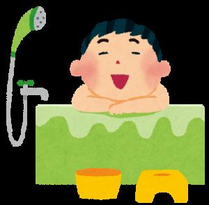 お風呂の男性